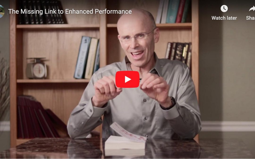 Enhanced Performance: The Missing Link