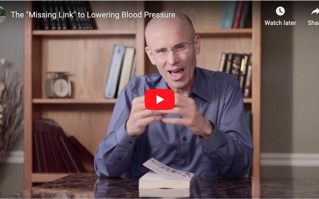 Blood Pressure: The Missing Link